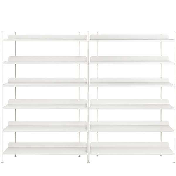 Muuto Compile shelf, Configuration 8, white