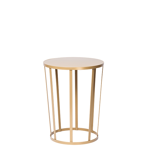 Petite Friture Hollo side table, gold
