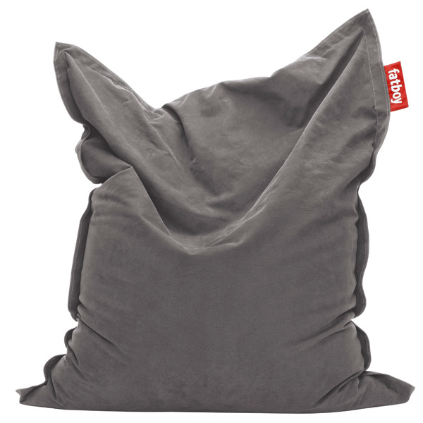 Fatboy Original Stonewashed bean bag, grey
