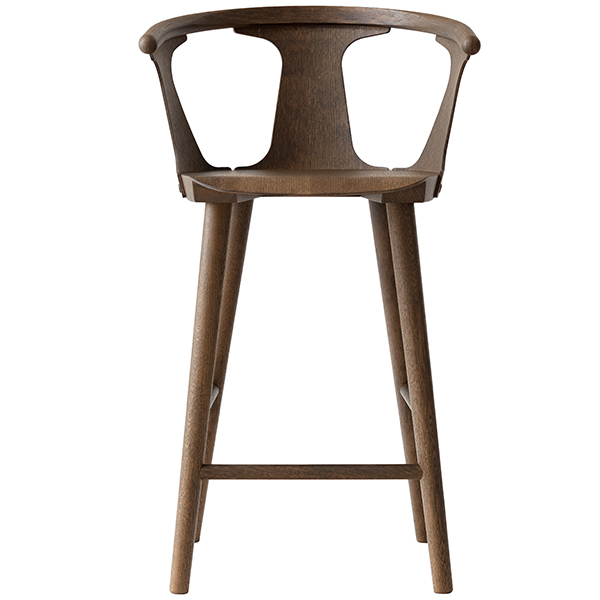 &Tradition In Between SK9 bar stool, 75 cm, smoked oak