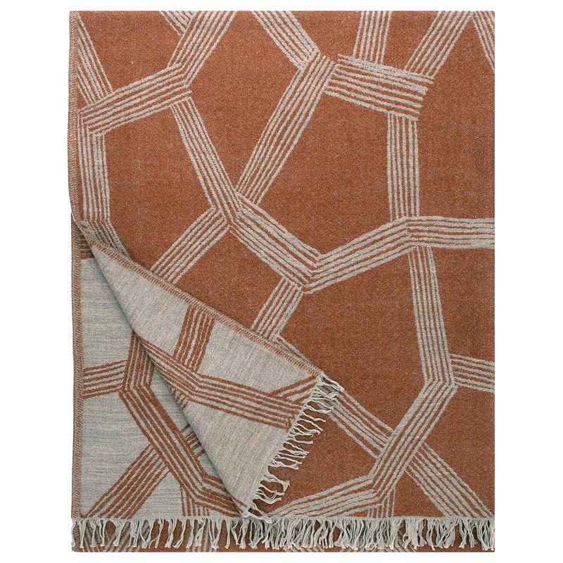Lapuan Kankurit Himmeli blanket, terracotta