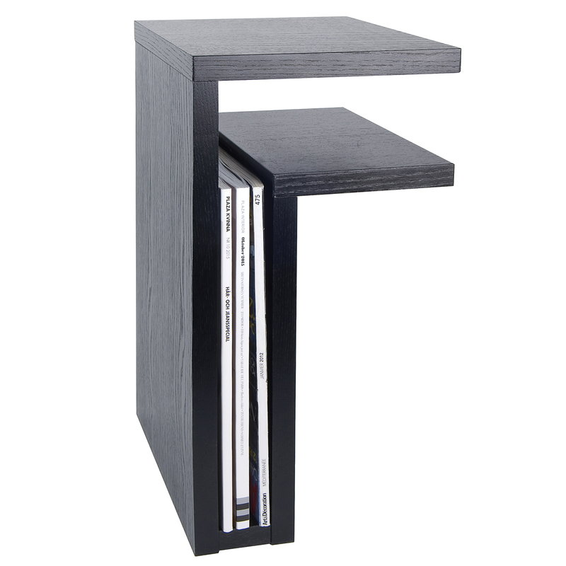 Maze F-shelf, right, black