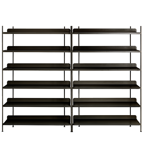 Muuto Compile shelf, Configuration 8, black