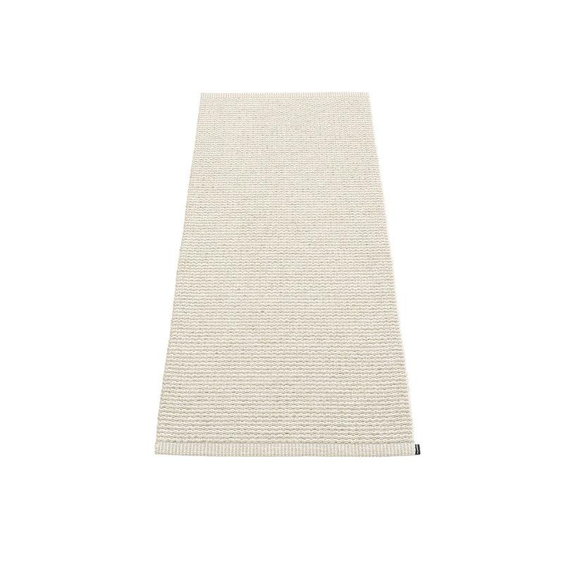 Pappelina Mono rug, 60 x 150 cm, linen - vanilla