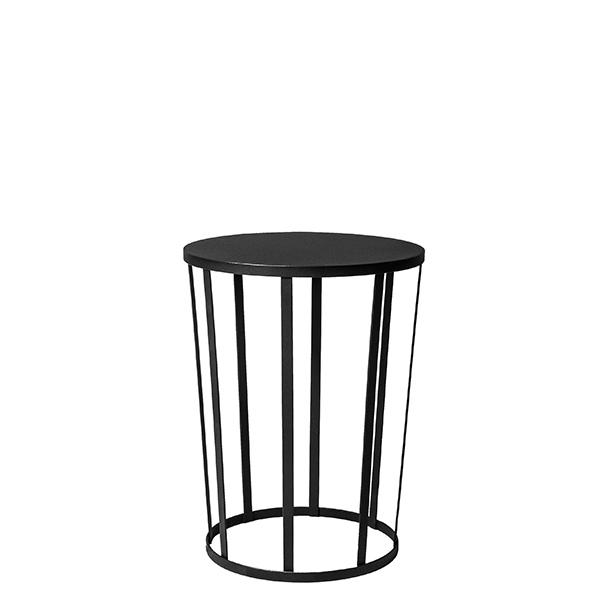 Petite Friture Hollo sivupöytä, musta