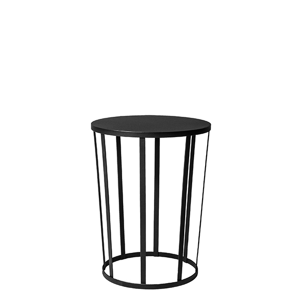 Petite Friture Hollo side table, black