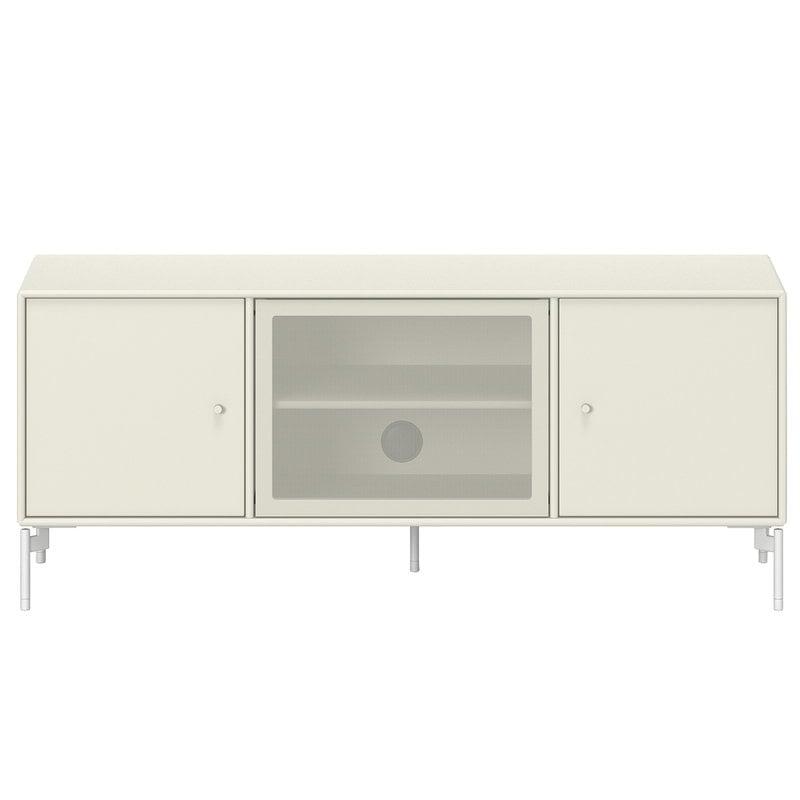 Montana Furniture Octave 1 TV&Sound senkki, Snow jalat - 150 Vanilla