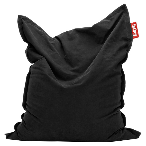 Fatboy Original Stonewashed bean bag,  black