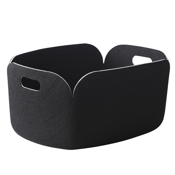 Muuto Restore storage basket, black