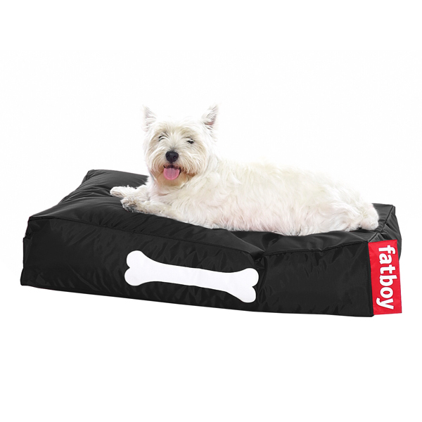 Fatboy Doggielounge dog bed, small, black