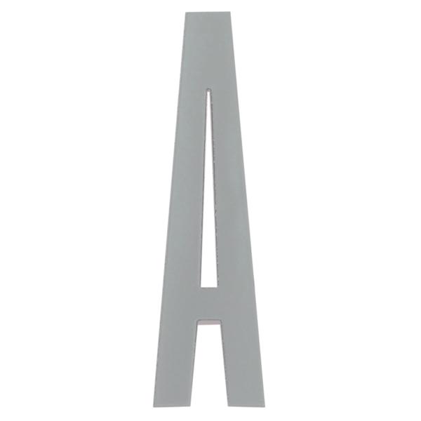 Design Letters Arne Jacobsen puukirjain, harmaa A-Ö