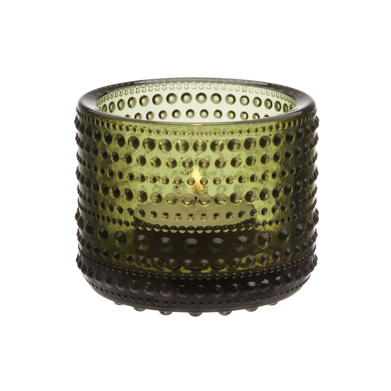 Iittala Kastehelmi votive 64 mm, moss green