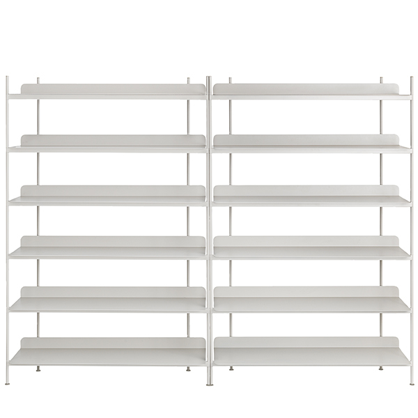 Muuto Compile shelf, Configuration 8, grey