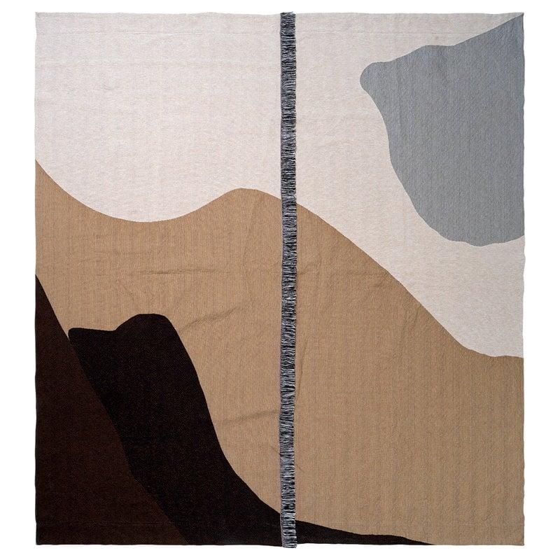 Ferm Living Vista päiväpeitto 180 x 140 cm, hiekka