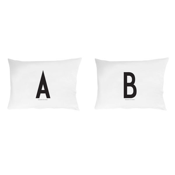 Design Letters Arne Jacobsen pillowcase