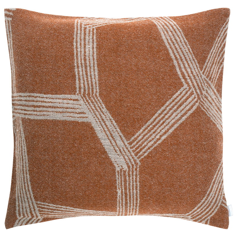 Lapuan Kankurit Himmeli cushion cover, terracotta