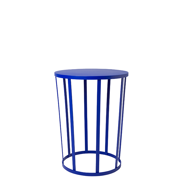 Petite Friture Hollo side table, blue