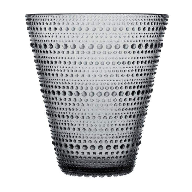 Iittala Vaso Kastehelmi 154 mm, grigio