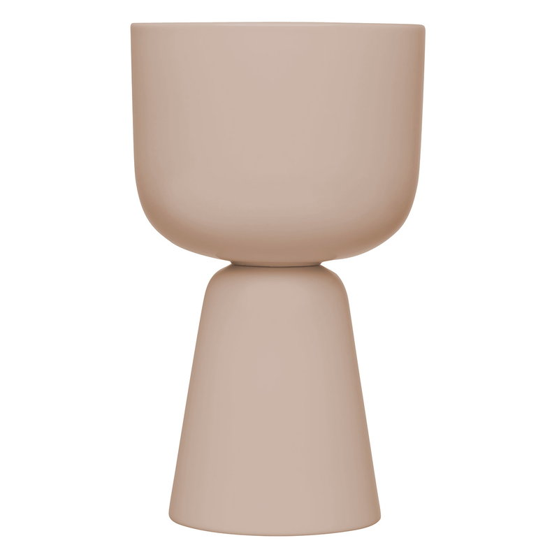 Iittala Nappula plant pot 260 x 155 mm, beige