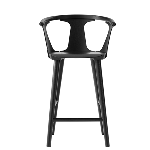 &Tradition Sgabello da bar In Between SK7, 65 cm, nero