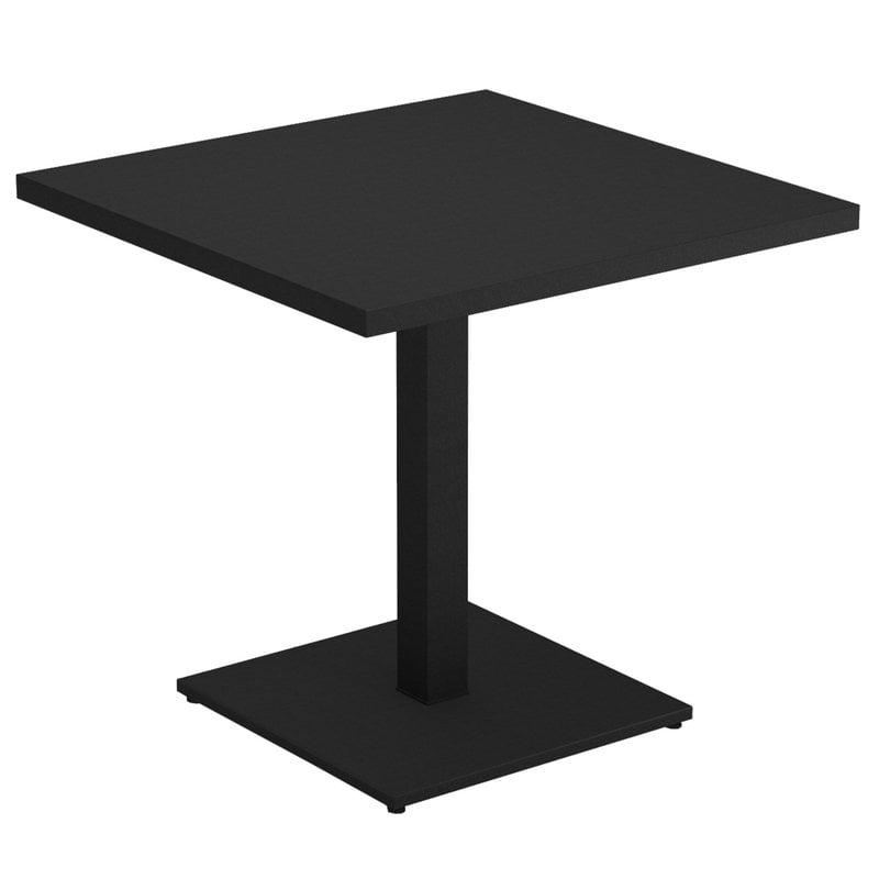 Emu Round table 80 x 80 cm, black