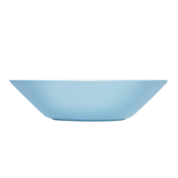 Iittala Teema deep plate 21 cm, light blue