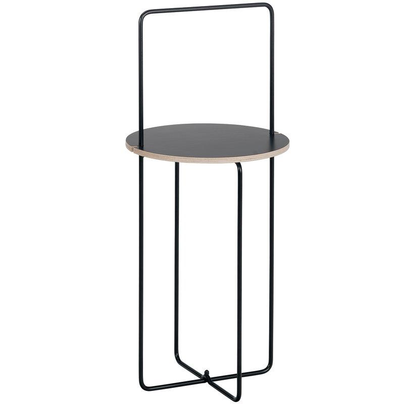Showroom Finland Mixrack table S, black