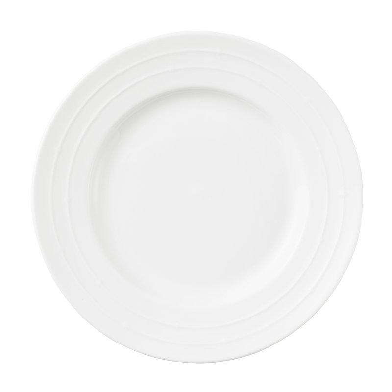 Tivoli Piatto Banquet 21 cm, bianco