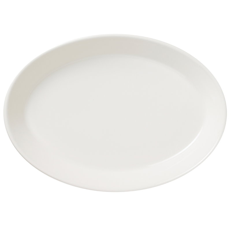 Arabia KoKo soikea lautanen, white