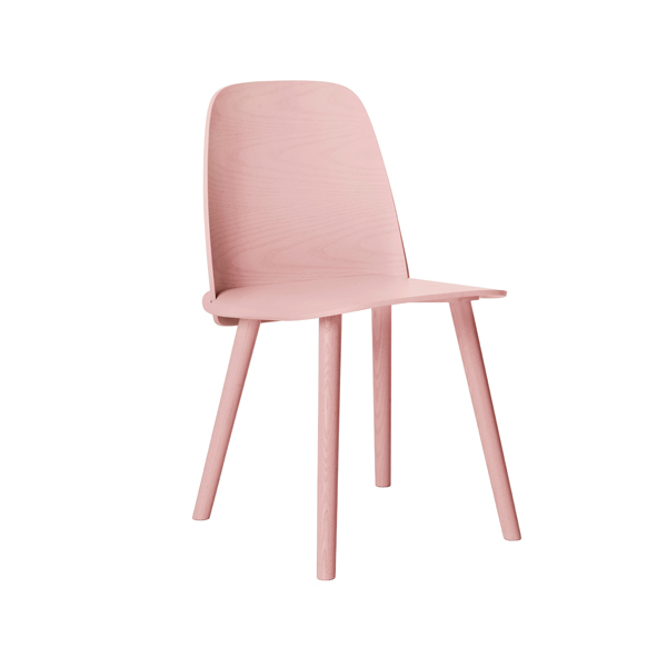 Muuto Nerd chair, rose