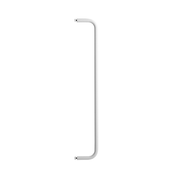 String String + metal rod, 53 cm, white
