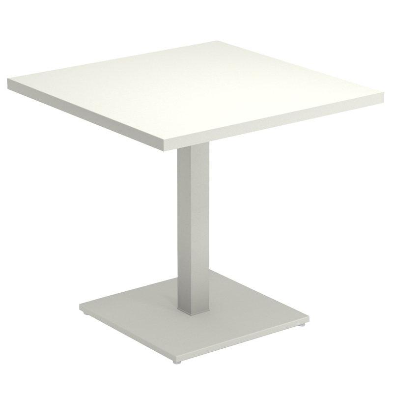 Emu Round pöytä 80 x 80 cm, mattavalkoinen