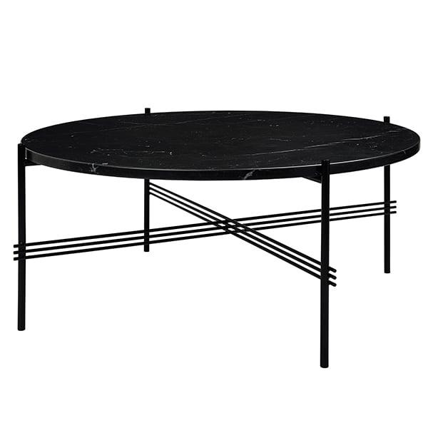 Gubi TS Coffee Table, 80 Cm, Black