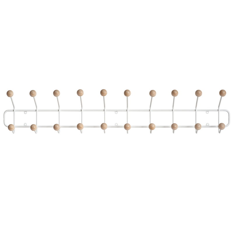 Maze Bill Horizontal coat rack, L, white