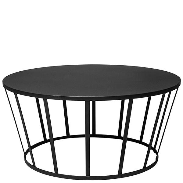 Petite Friture Tavolino da salotto Hollo, nero