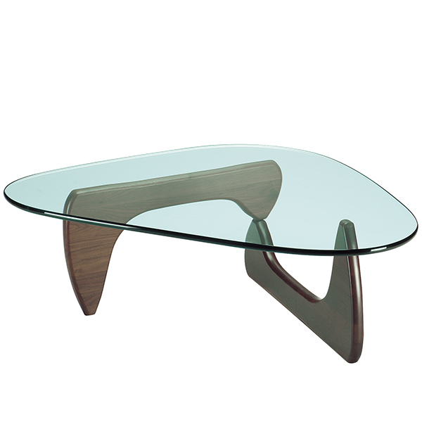 Vitra Noguchi coffee table, walnut