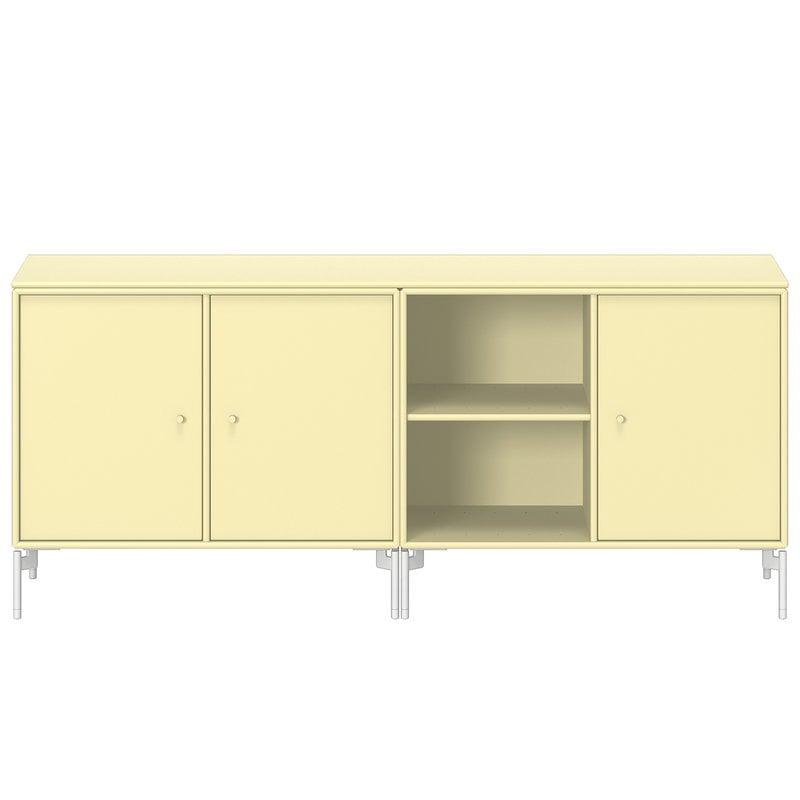Montana Furniture Save matala senkki, Snow jalat - 159 Camomille