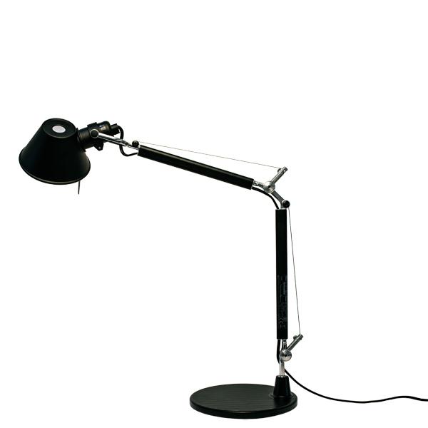 Artemide lampada da tavolo tolomeo micro nera finnish design shop - Lampada da tavolo tolomeo ...