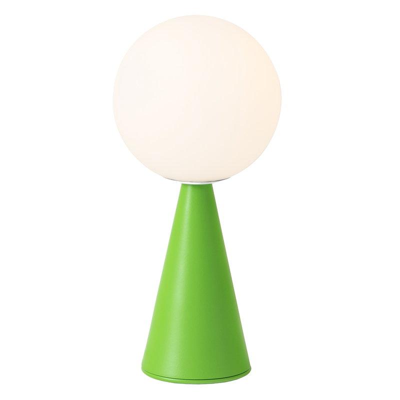 FontanaArte Bilia Mini table lamp, green