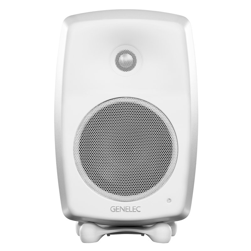 Genelec G Three active speaker, white