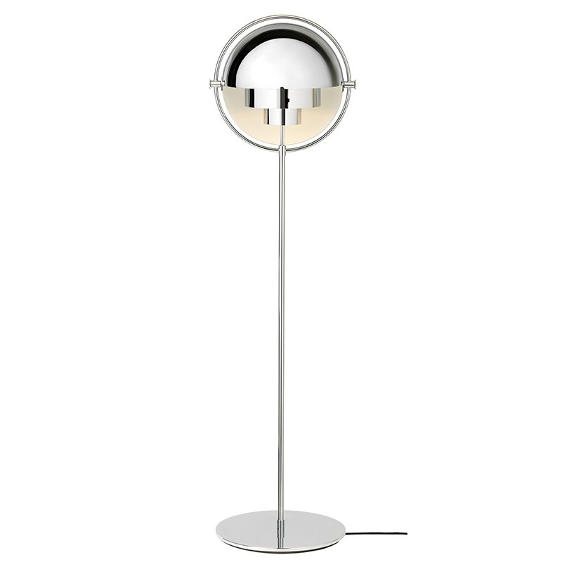 Gubi Multi-Lite floor lamp, chrome