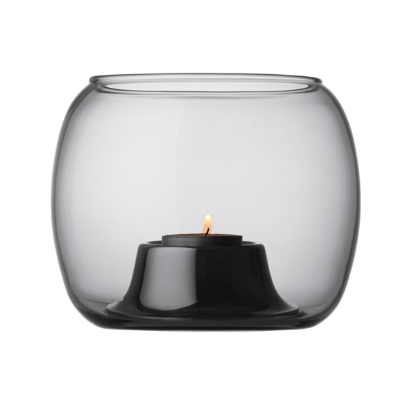 Iittala Kaasa tealight holder, grey