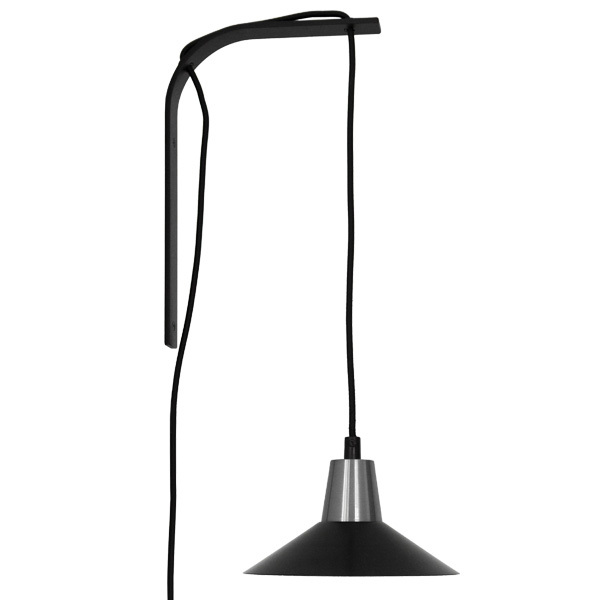 Studio Joanna Laajisto Edit wall lamp, black-steel
