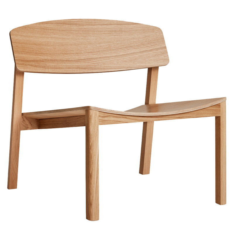 Made by Choice Halikko lounge chair, oak | Finnish Design Shop