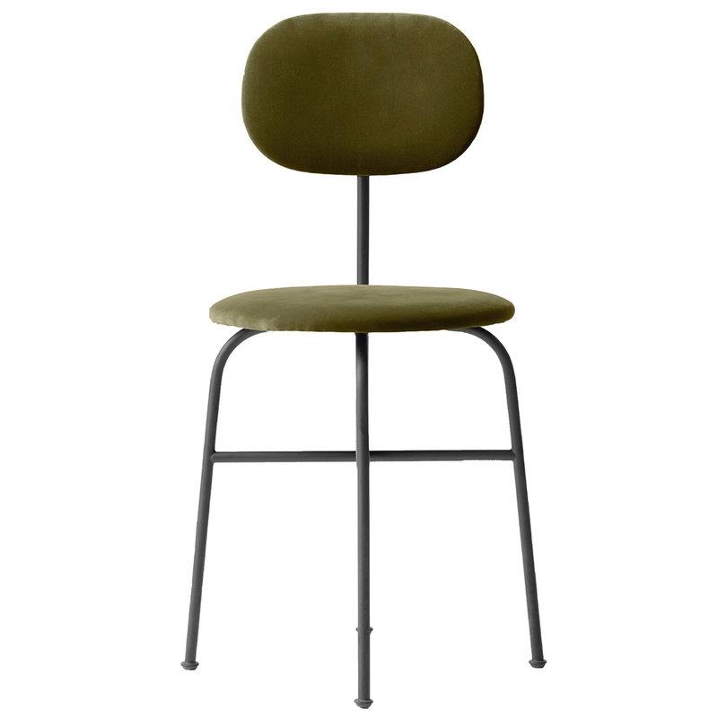 Menu Afteroom Plus tuoli,  City Velvet CA7832/031 - musta teräs