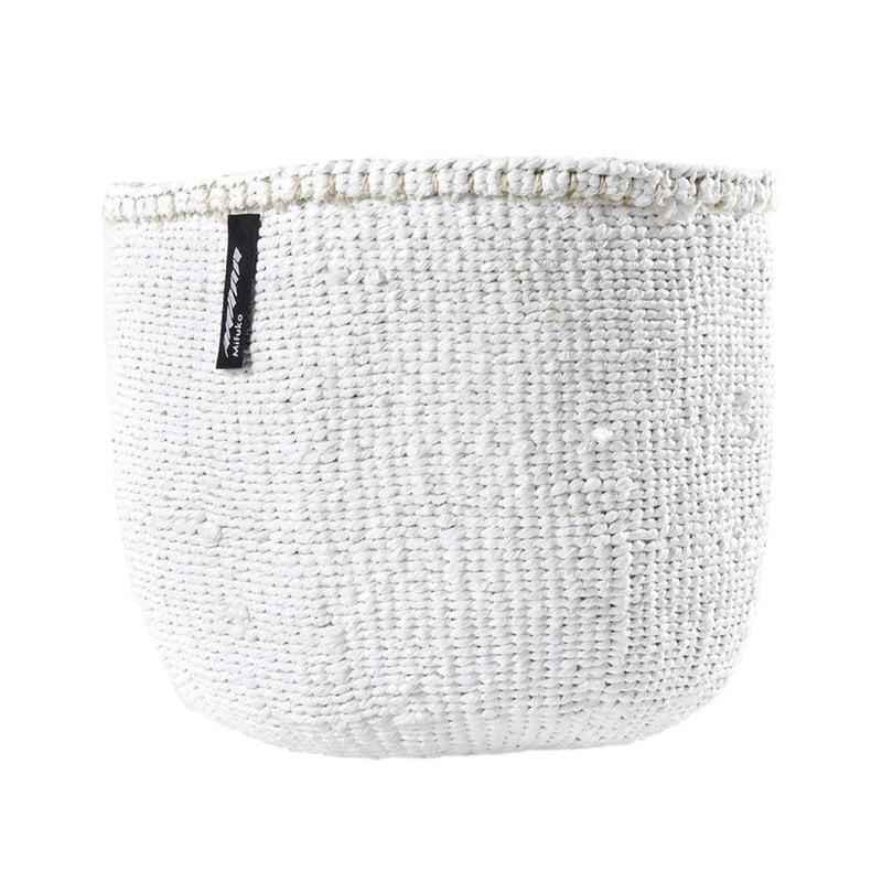 Mifuko Kiondo basket S, white