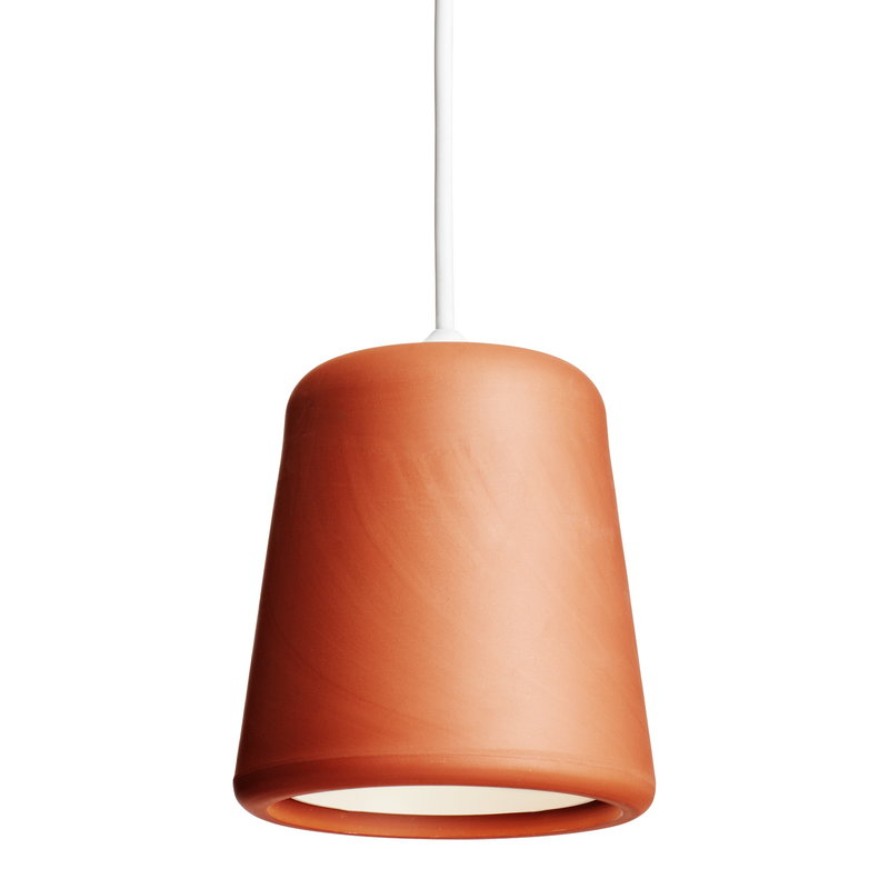 New Works Lampada Material, terracotta