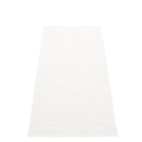 Pappelina Svea rug, 70 x 160 cm, white metallic