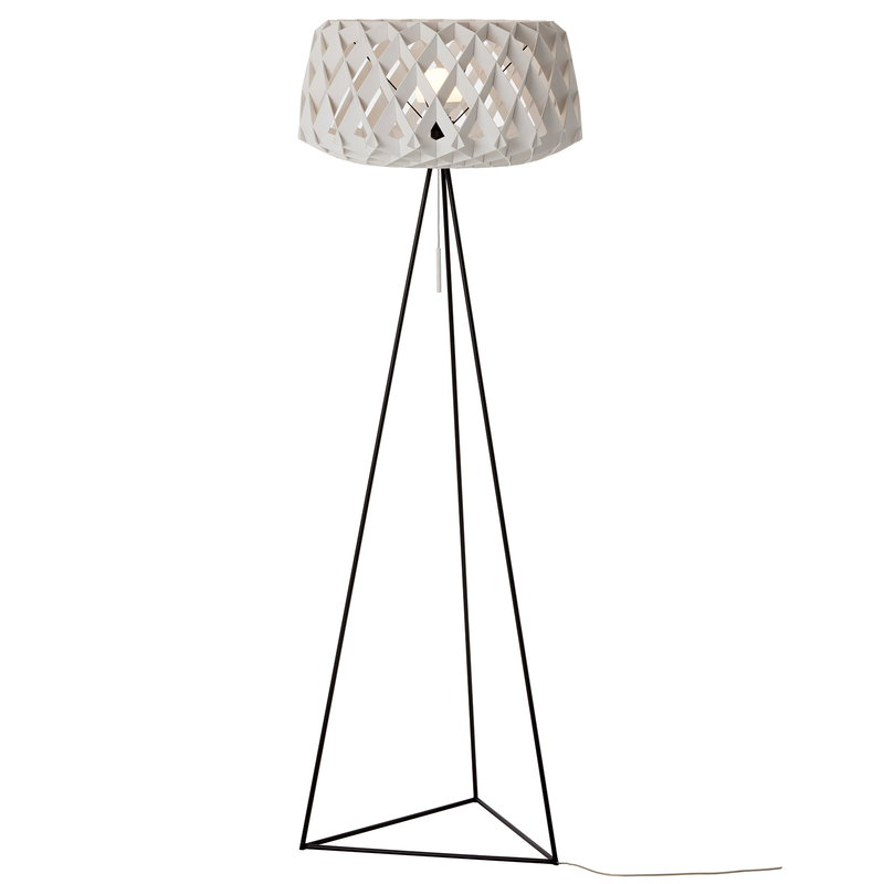 Showroom Finland Pilke 60 Tripod floor lamp, white | Finnish Design Shop