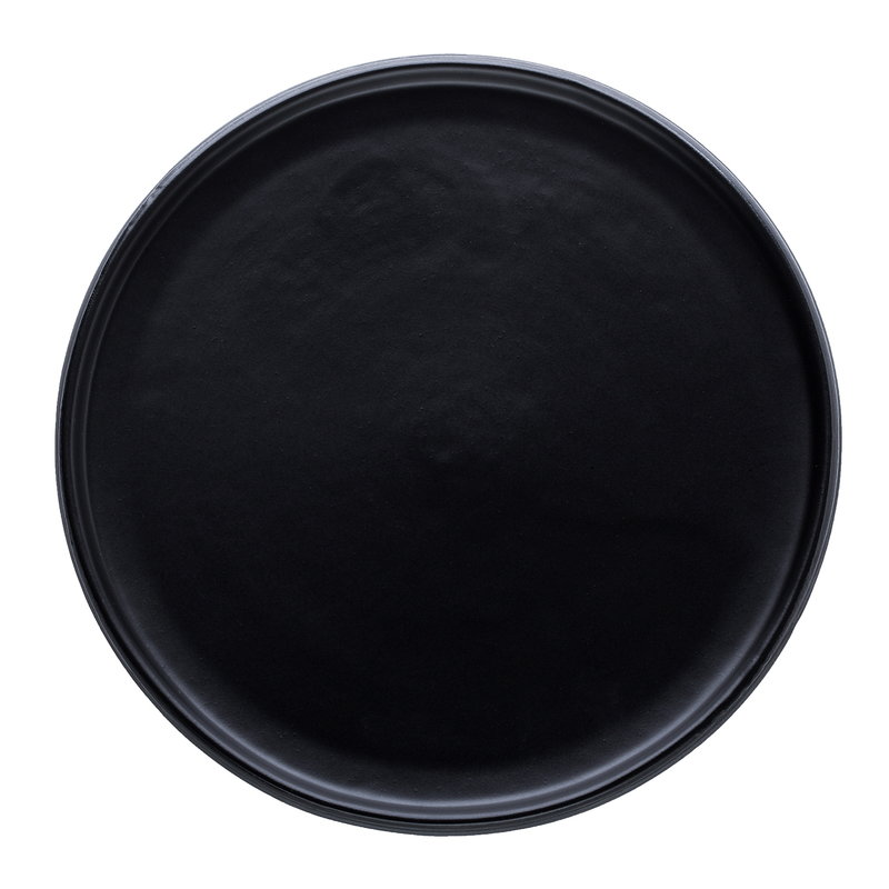 Vaidava Ceramics Eclipse dinner plate 29 cm, black